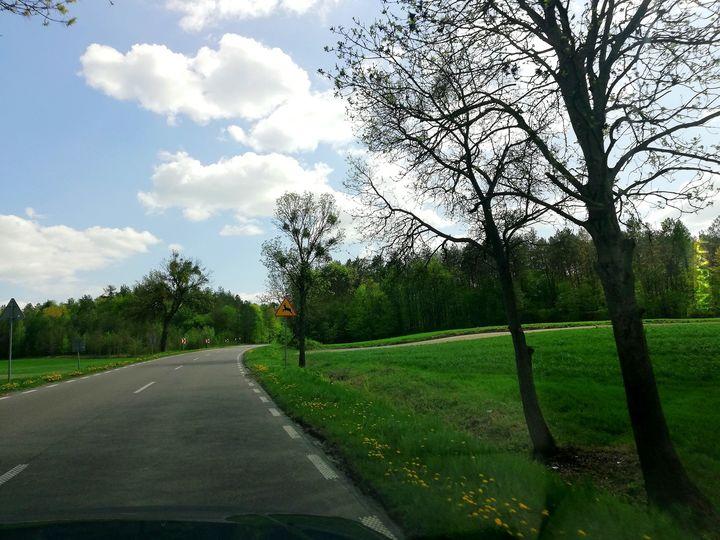 Piękne Lubelskie - Droga. =D