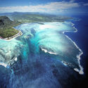 Mauritius - podwodny wodospad
