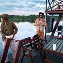 Pływająca sauna ;) Norwegia