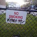 Smoking.