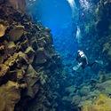 Podwodny kanion Silfra, Islandia