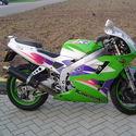 Kawasaki ZXR 400-pierwsze moto