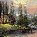 Thomas Kinkade , A peaceful retreat