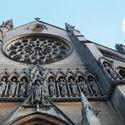 Katedra w Arundel rozeta witraż