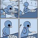 A ty jak jesz pizze?