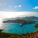 Zatoka w Antigua