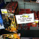 Nie bawić się zabawkami