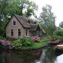 Giethoorn, Holandia.
