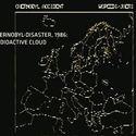 Chmura po wybuchu w Czarnobylu 1986