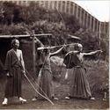 japońscy łucznicy XIX wiek
