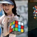 Rubik fashion.