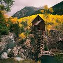 Crystal Mill, Colorado Ghost Town