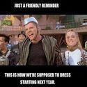 Tak mielibyśmy się ubierac od przyszłego roku :)