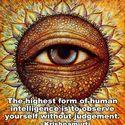 nie oceniaj/etykietuj siebie i innych.. obserwuj i badz swiadomy