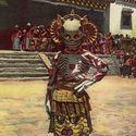 tibetan skeleton dancers 1925
