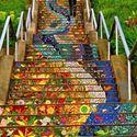 Mozaikowe schody