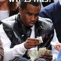 Znalazł dolara