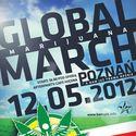 Global marijuana march Poznań