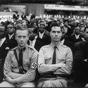 George Lincoln Rockwell i koledzy z amerykańskiej partii nazistowskiej