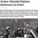 Jeszcze Ukraina, czy już Białoruś?