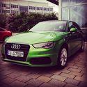 Audi A3, piękny kolor ;)