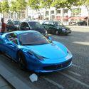 Ferrari 458 w Paryżu