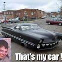 Jego auto