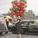 Audrey Hepburn w Paryżu 1957 rok