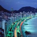 Rio de Janeiro nocą