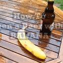 Jak otworzyć piwo bananem