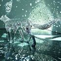 Świecące się rzeźby - Tomoko Konoike