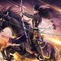 siedzę na koniu