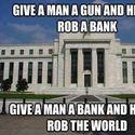 daj człowiekowi bank