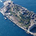 Opuszczona wyspa, Hashima, Japonia