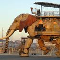 the great elephant-the world's largest mechanical animal.it can carry around 50 passengers