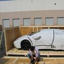 Rozpakowywanie Lamborghini