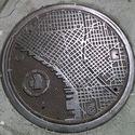 Pokrywa studzienki kanalizacji deszczowej