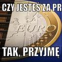 Euro, chętnie...