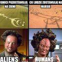 Lodzie vs Kosmici