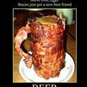 mięsny kufel z piwem