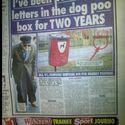 Dwa lata wrzucałem listy do kosza na psie kupy