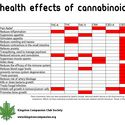 Health Effects of cannabinoids