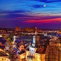 Ratusz z Wieży Trynitarskiej w Lublinie