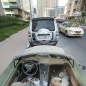 Porzucone samochody w Dubaju
