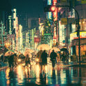I love Tokio in the rain