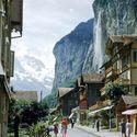 lauterbrunnen szwajcaria 1951r