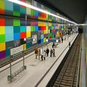 Kolorowa stacja.
