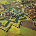 Fort Bourtange, Groningen, Netherlands.