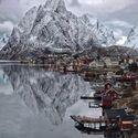Lofoten Islands, Norwegia.