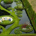 sunken alcove garden nowa zelandia